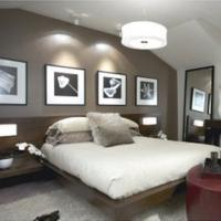 Bruine bedden - Deco kamer bruin ...